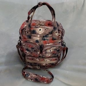Lug Mini Puddle Jumper Bag Watercolor Pearl